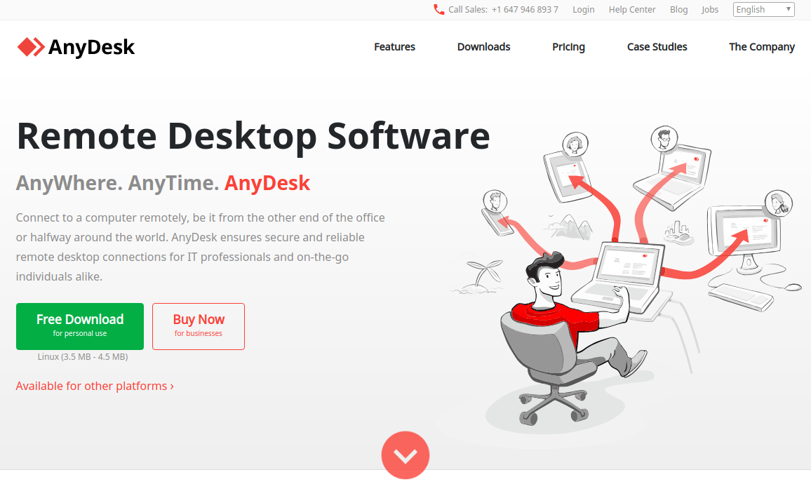AnyDesk Aplikasi Remote Desktop Gratis Terbaik