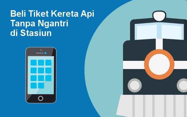 Tutorial Beli Tiket Online Tanpa Ngantri di Ponsel  Android dan IOS