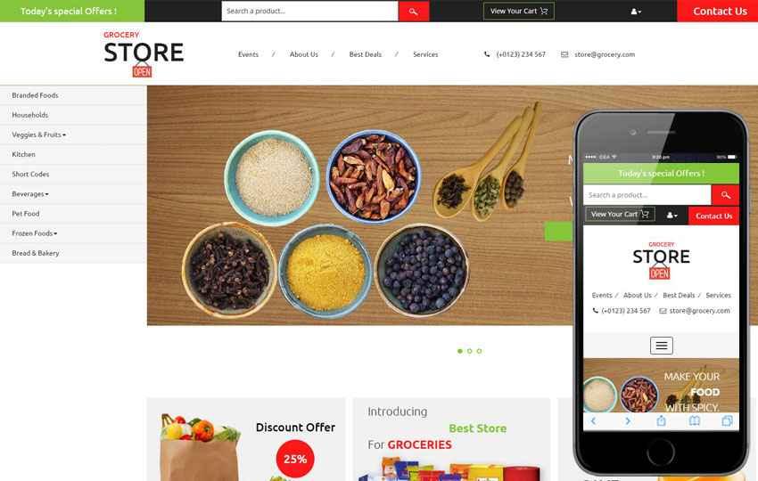 Template Mobile Website Gratis