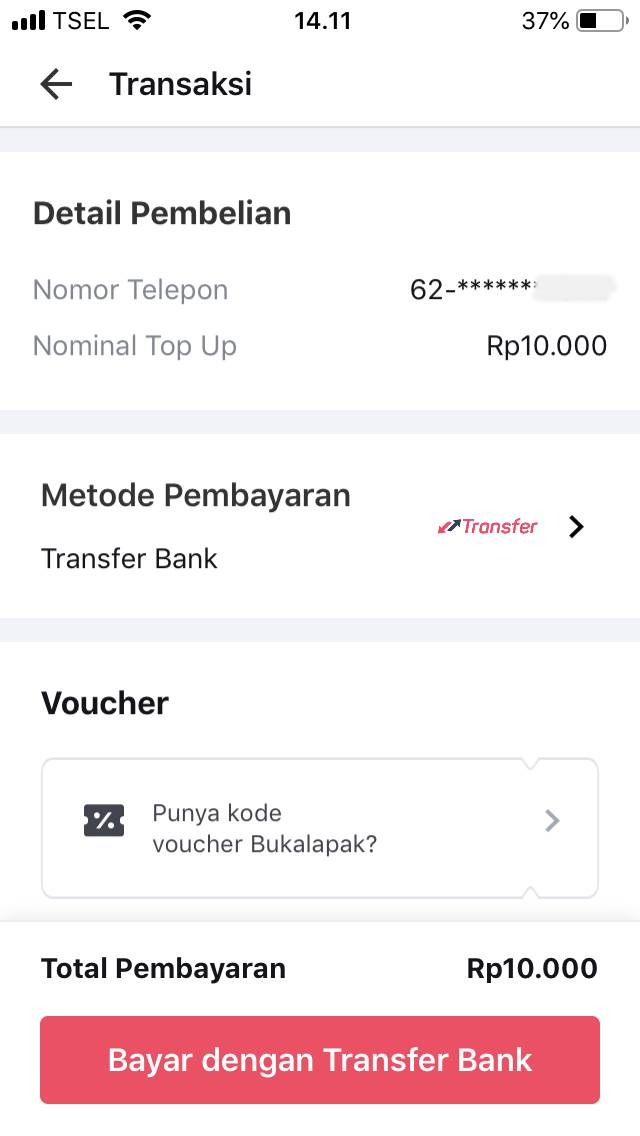 5. Metode Pembayaran