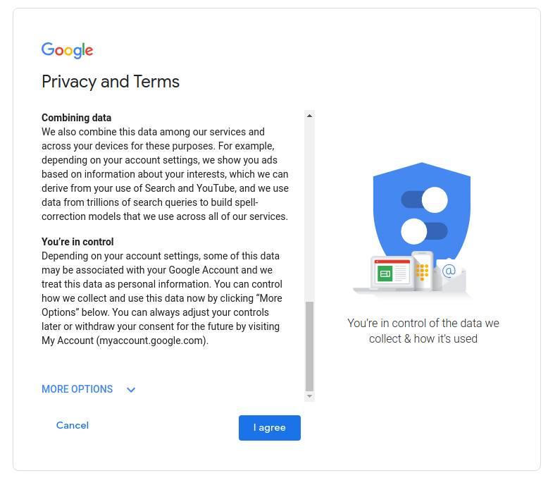 6. Privasi dan Persyaratan