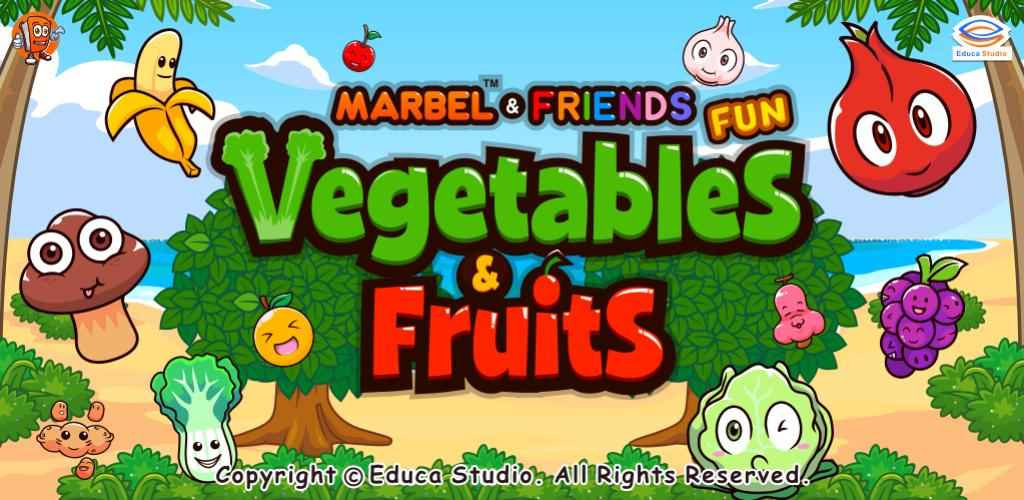 Marbel Fun Vegetable & Fruits