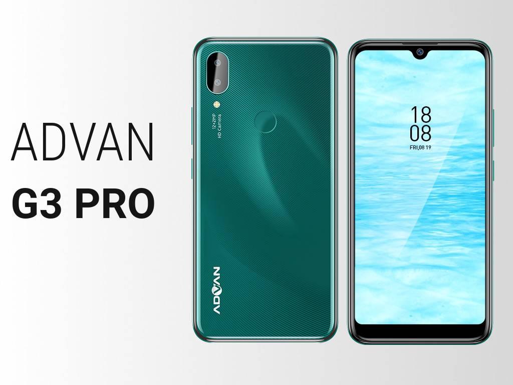 Spesifikasi Advan G3 PRO