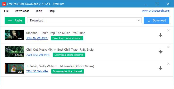 2. Free YouTube Download for PC, Mac and Android
