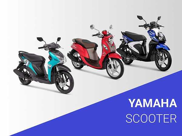 Harga Motor Scooter Yamaha dibawah 20 Jutaan