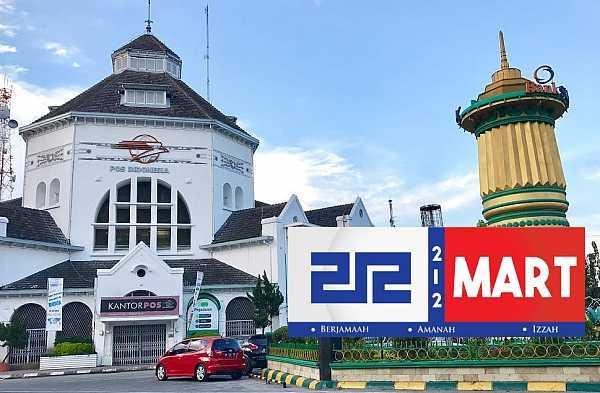 Daftar Alamat Minimarket 212 MART di Kota Medan