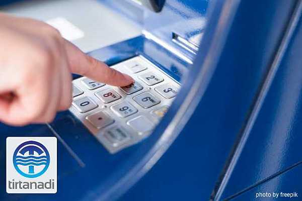 Cara Bayar Tagihan Air PDAM Tirtanadi Melalui ATM