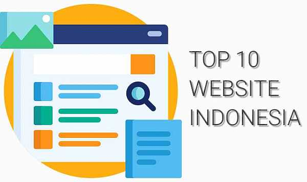 Top 10 Website Paling Banyak di Akses di Indonesia