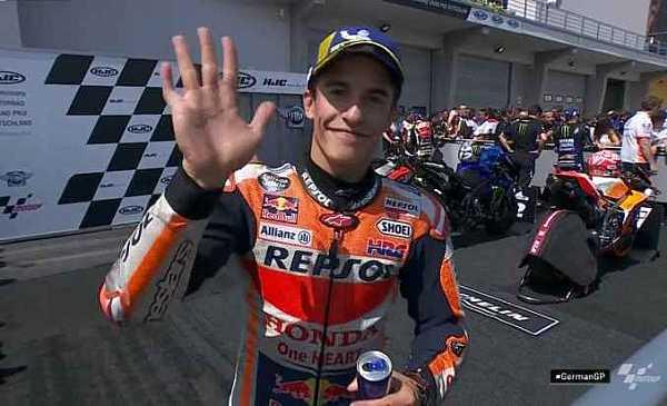 Marq Marquez Juara Motogp Sachsenring 2019