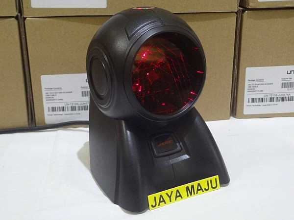 Review Barcode Scanner UNILOGIC UN-7210S SATURN Harga 1 Jutaan